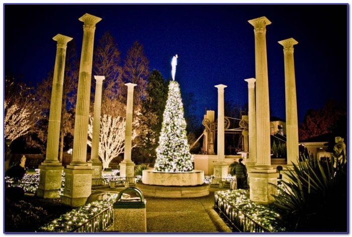 Christmas Town Busch Gardens Williamsburg Virginia