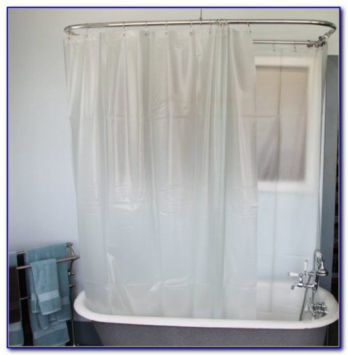 Clawfoot Tub Shower Curtain Fabric