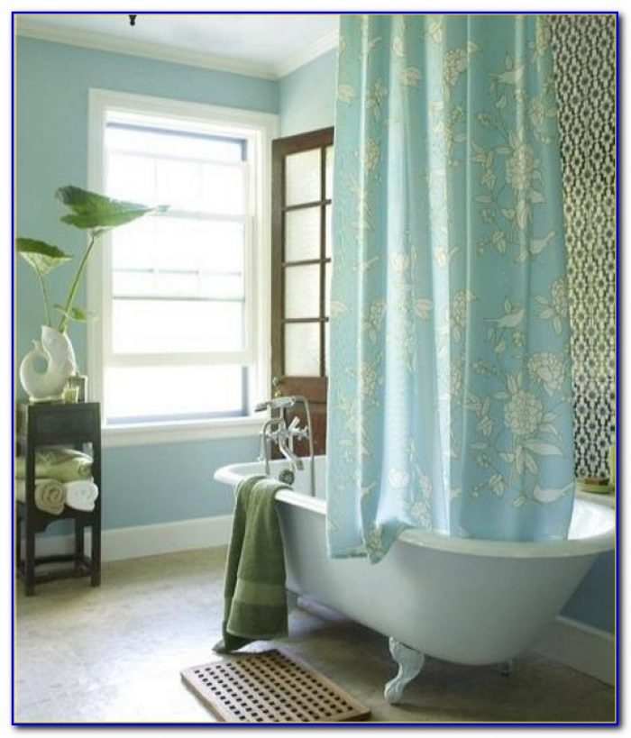 Clawfoot Tub Shower Curtain Rod Oval