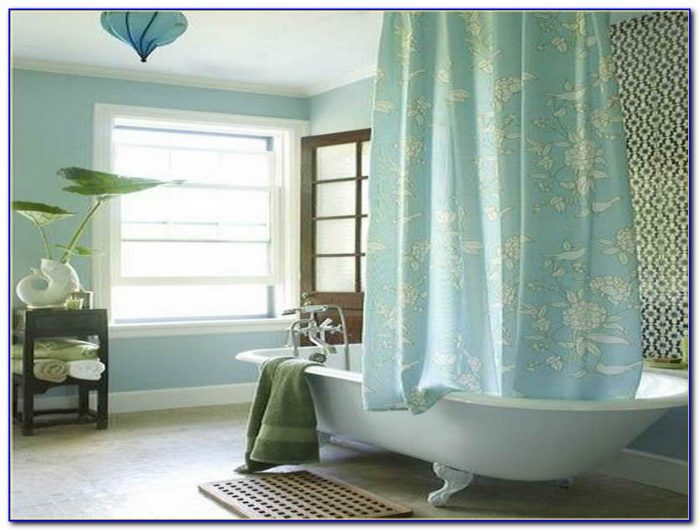 Clawfoot Tub Shower Curtain Size