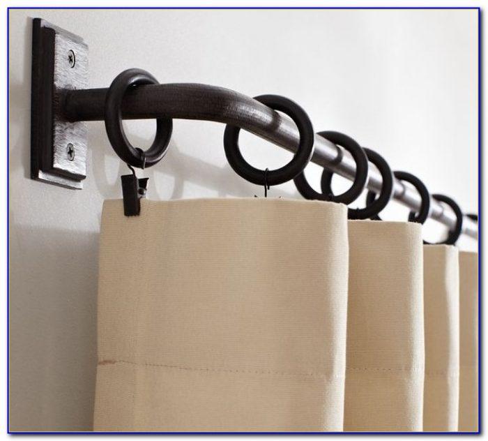 Curtain Rod Hardware Brackets