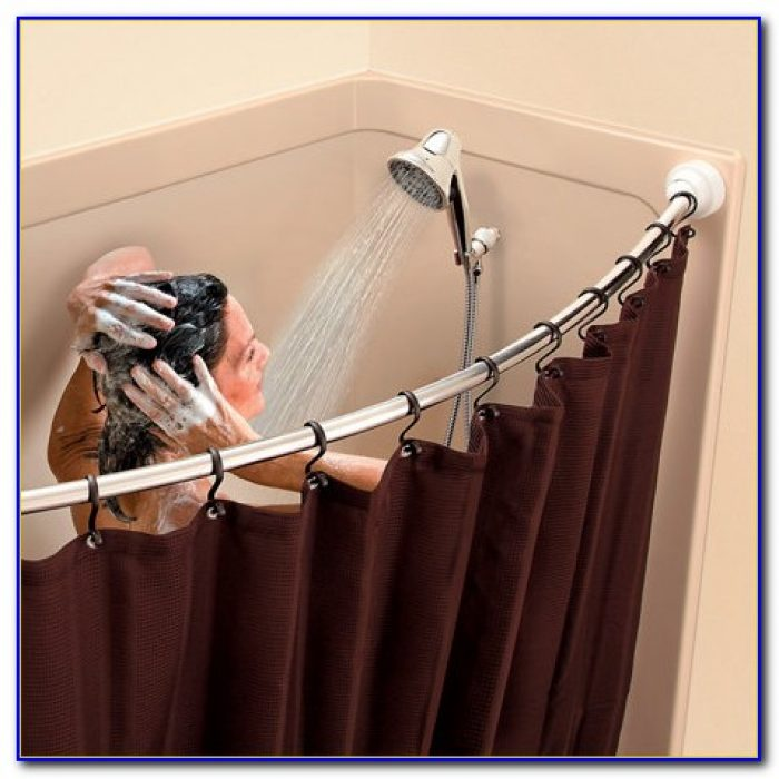 Curved Curtain Rod For Windows
