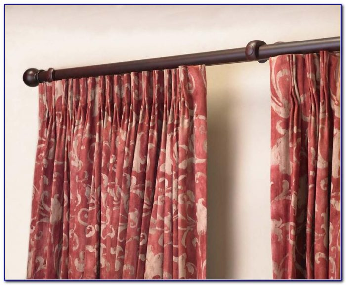 Custom Curtain Rods Extra Long