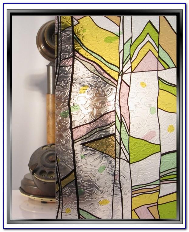 Decorative Window Film Stained Glass Uk