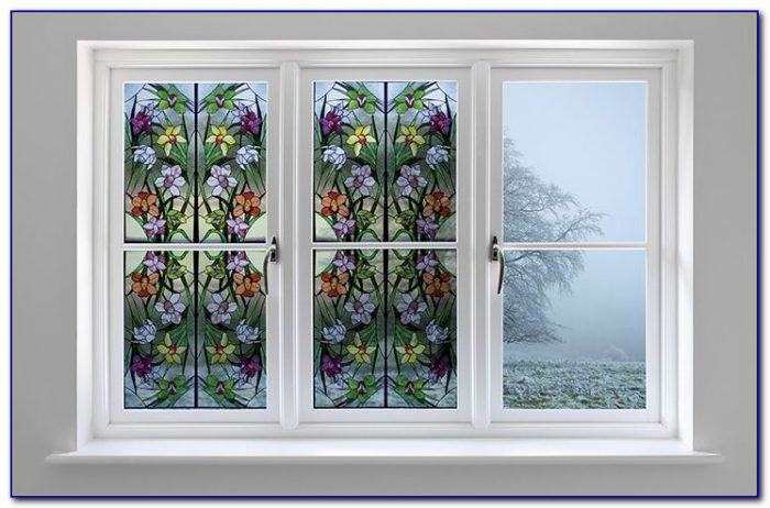 Decorative Window Film Stained Glass Victorian