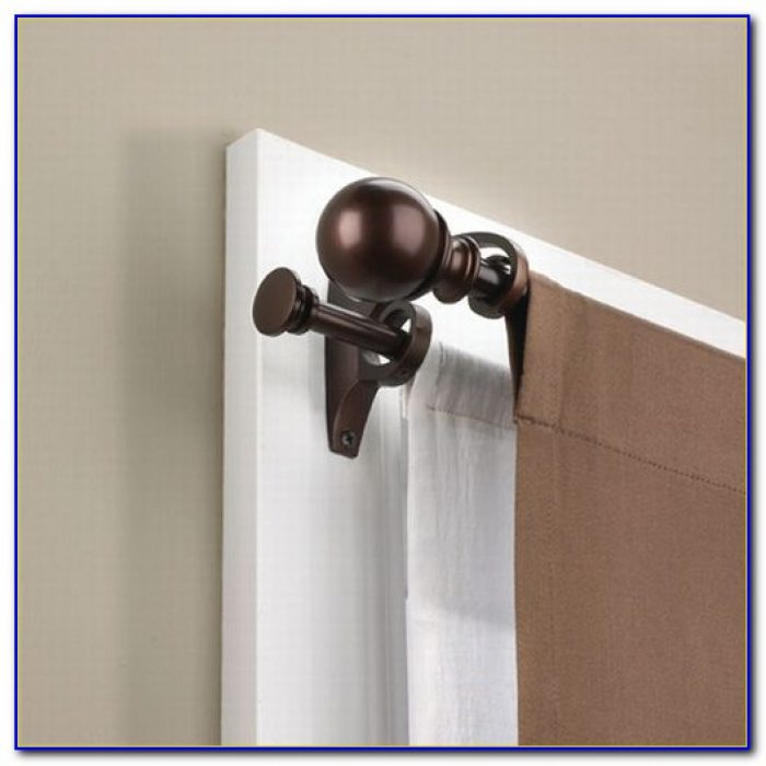 Double Rod Curtain Target