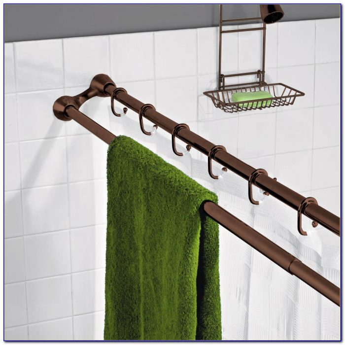 Double Shower Curtain Rod Bed Bath And Beyond
