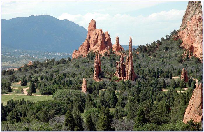 Garden Of The Gods Colorado Camping