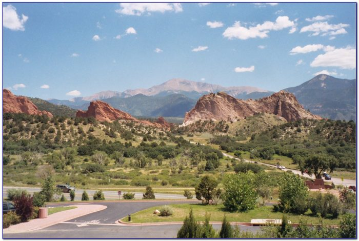 Garden Of The Gods Colorado Elevation
