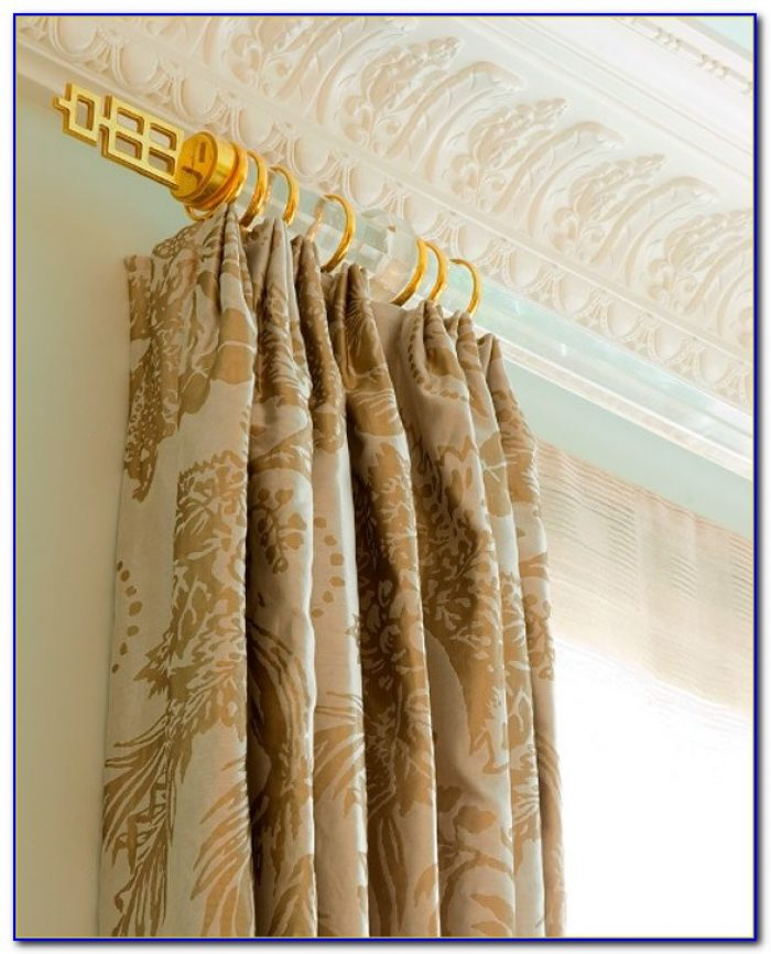 Gold Curtain Rod Australia
