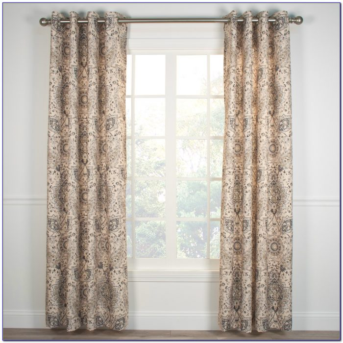 Grommet Curtain Panels For Sliding Glass Doors