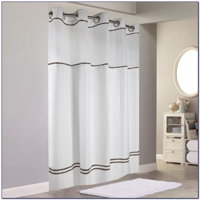 Hookless Shower Curtains With Liner