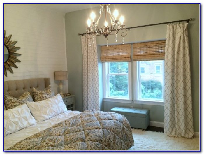 How To Install Curtain Rods On Corner Windows