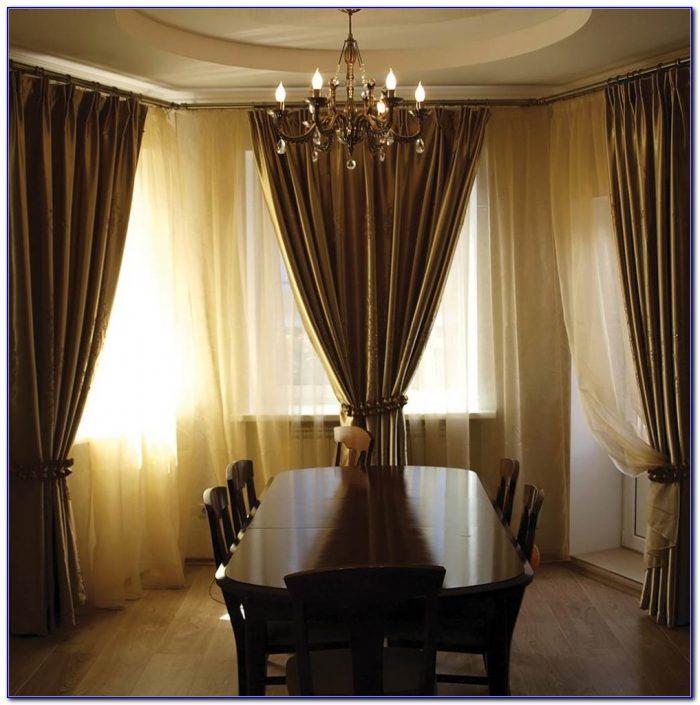 L Shaped Curtain Rod Brackets
