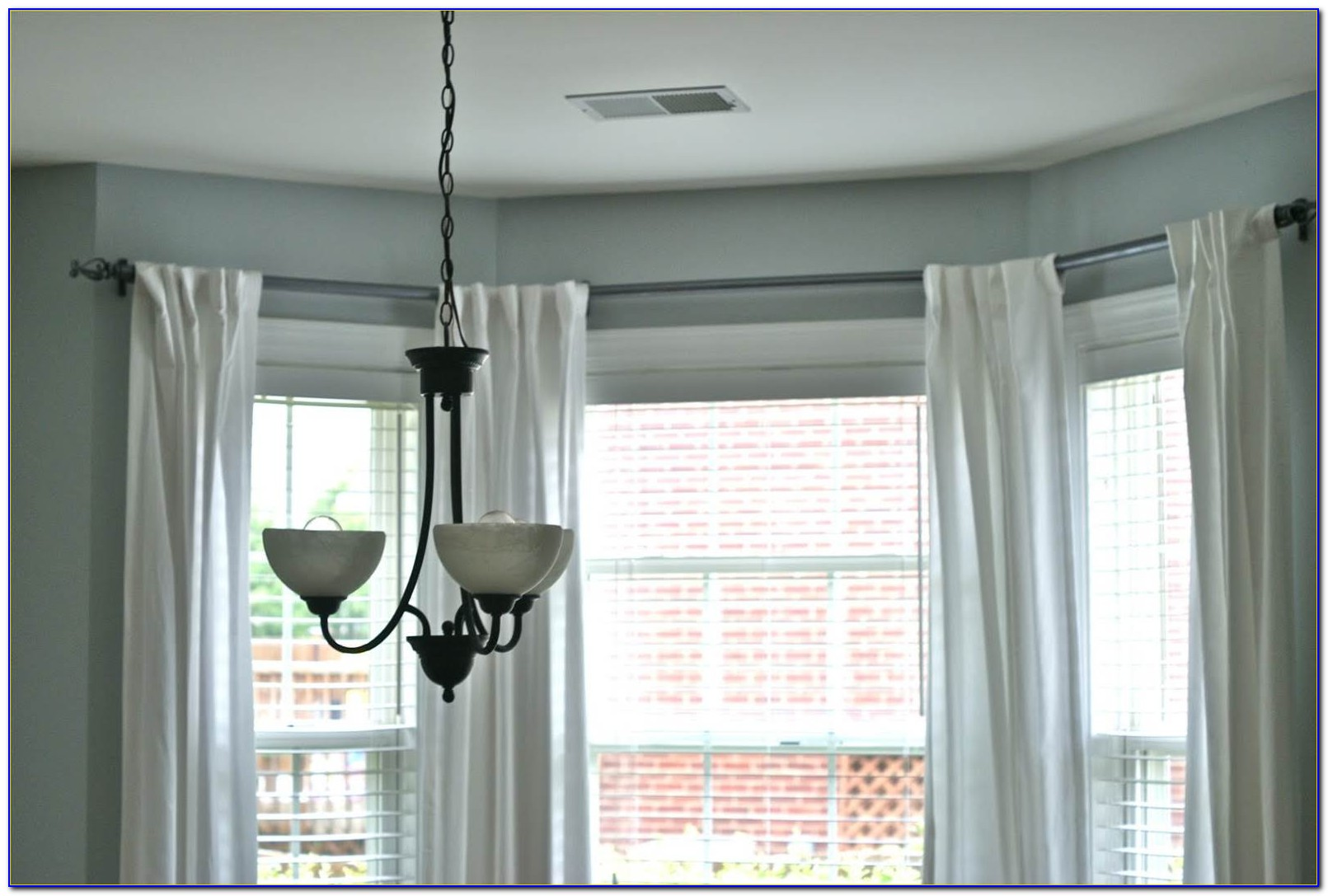 L Shaped Curtain Rods For Windows