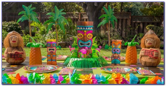 Luau Party Decorations Amazon