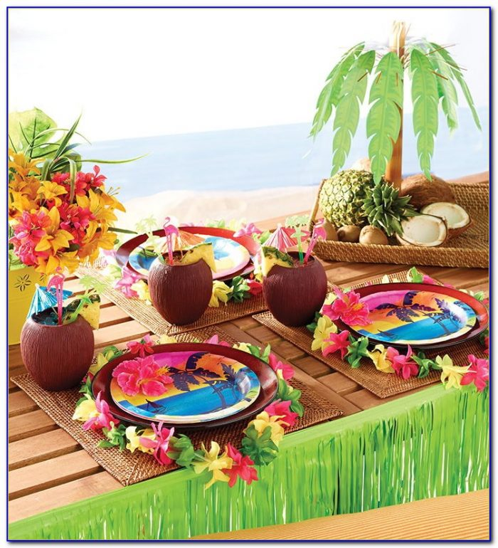 Luau Party Decorations Diy
