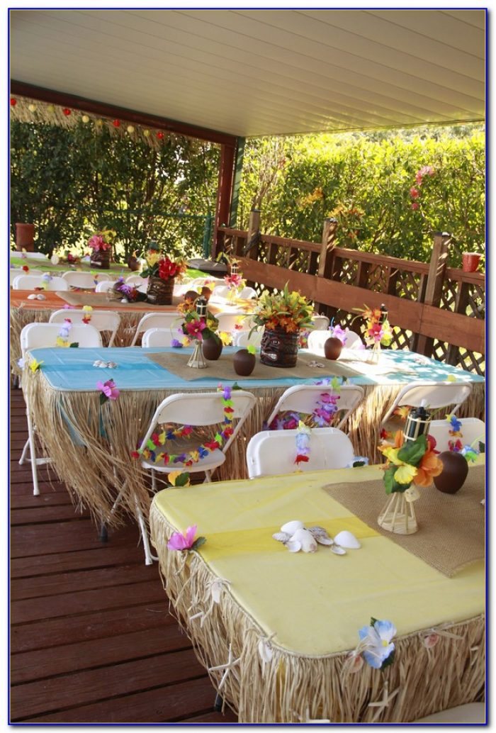 Luau Party Decorations Ideas