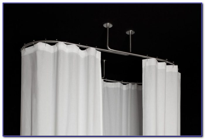 Oval Shower Curtain Rod Australia
