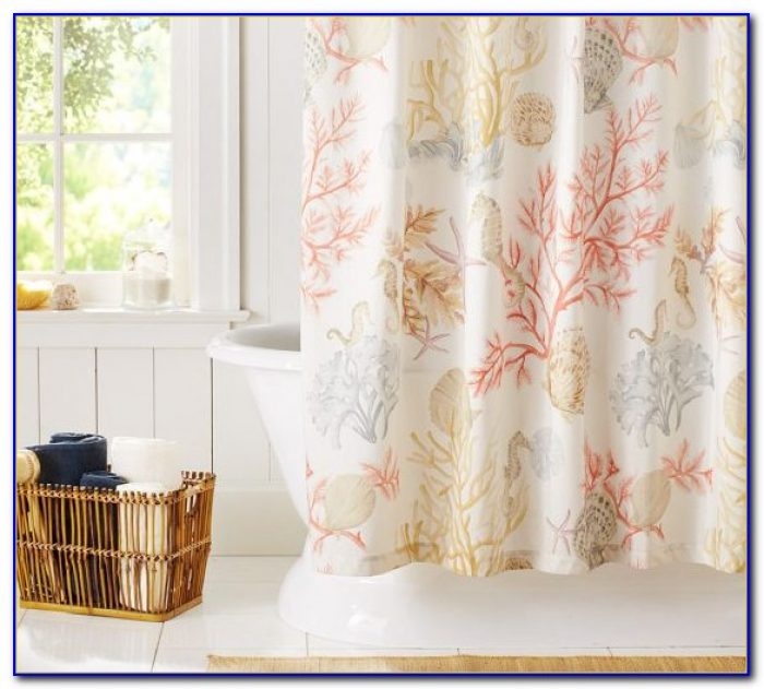 Pottery Barn Shower Curtain Liner