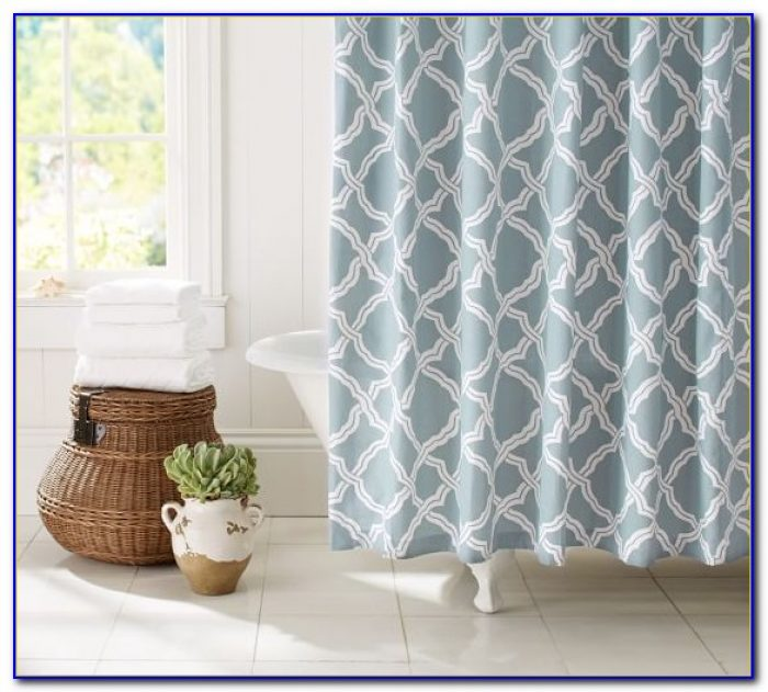 Pottery Barn Shower Curtains Extra Long