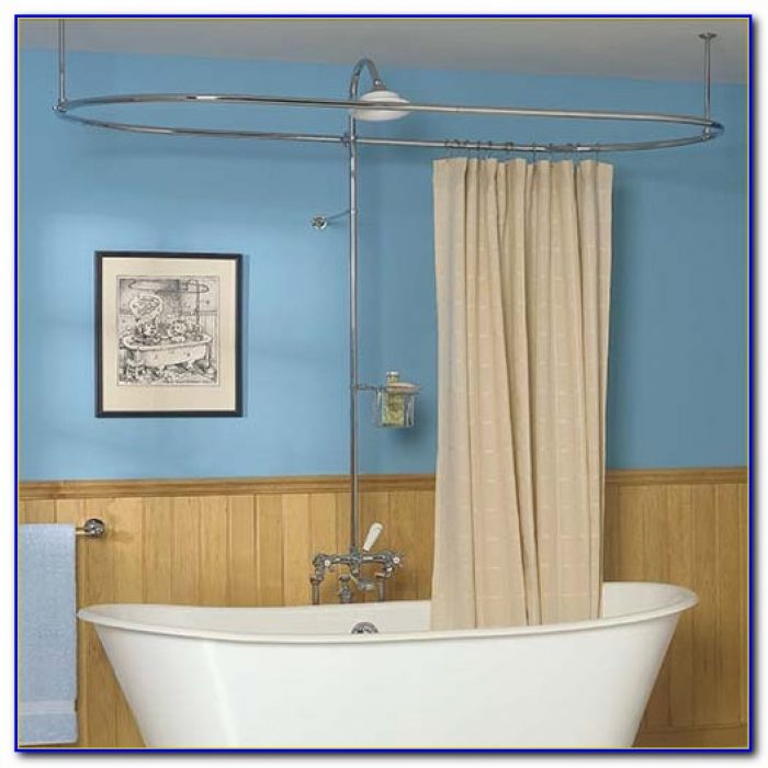 Round Shower Curtain Rod Canada