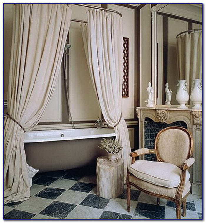 Shower Curtain For Clawfoot Tub Bed Bath And Beyond