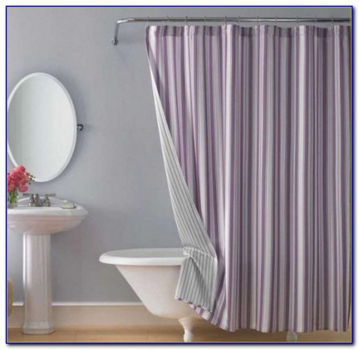 Shower Curtain For Clawfoot Tub Size