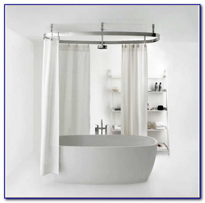 Shower Curtain Liner For Clawfoot Tub
