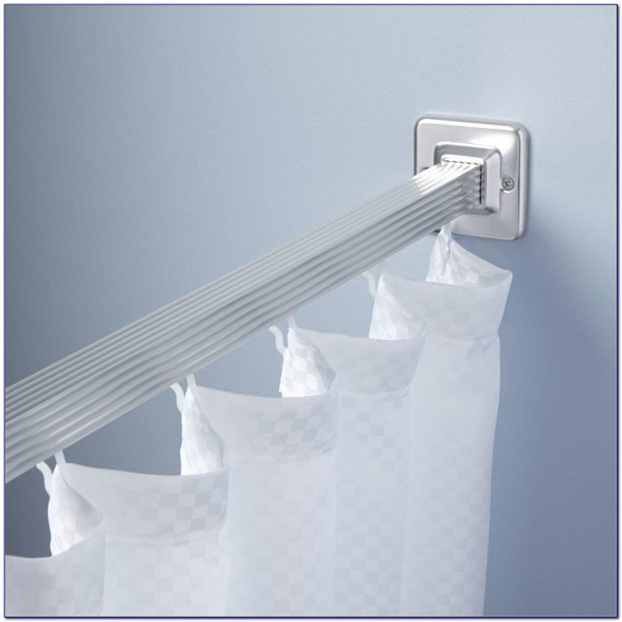 Shower Curtain Rods For Clawfoot Tub