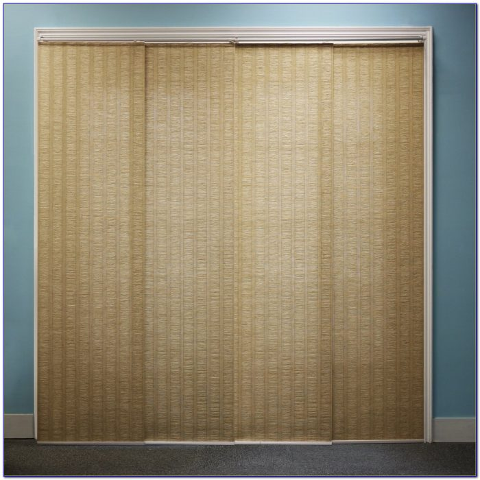 Sliding Door Curtains Ideas