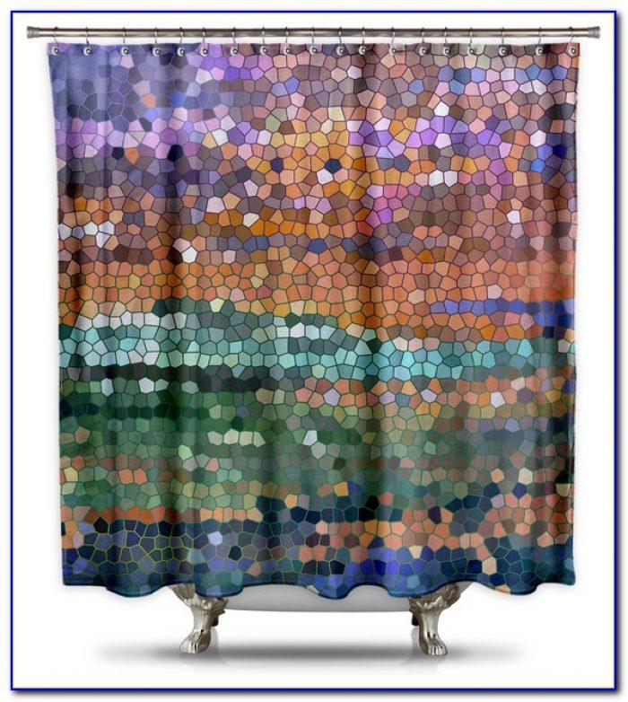 Standard Shower Stall Curtain Size