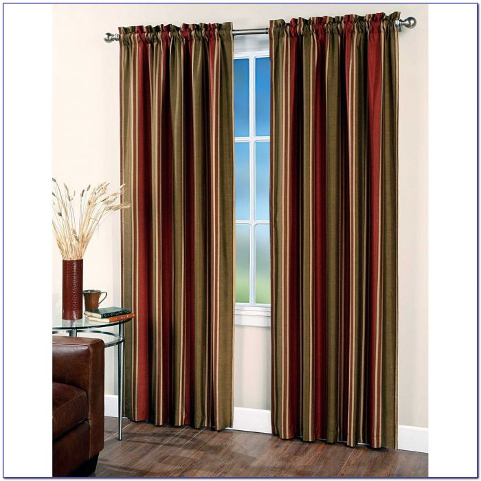 Striped Curtain Panels 96