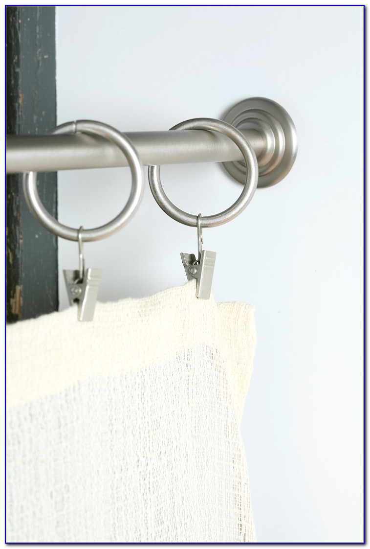 Tension Rods For Curtains Extra Long
