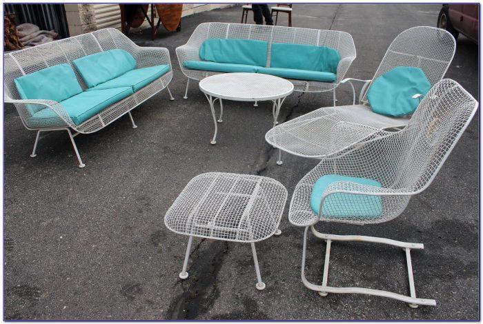 Woodard Patio Furniture Wrought Iron