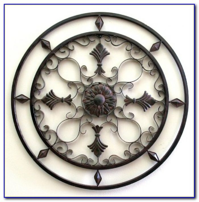 Wrought Iron Wall Decor Ideas