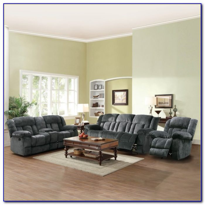 Ashley Microfiber Living Room Set