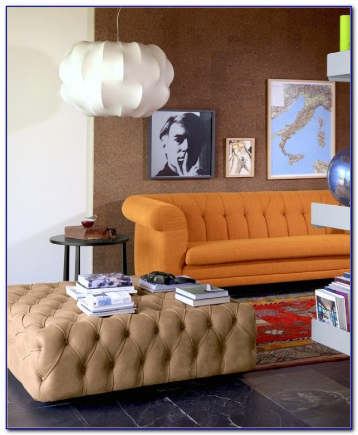 Black Tufted Living Room Set