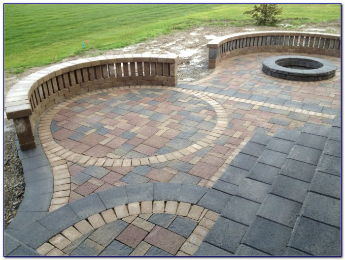 Brick Patio Patterns Circular