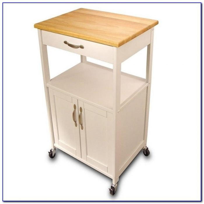 Butcher Block Kitchen Cart Canada