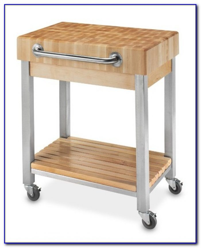 Butcher Block Kitchen Cart Plans