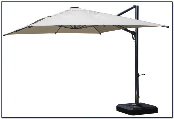 Cantilever Patio Umbrella With Base
