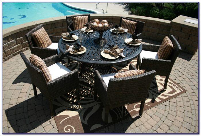 Cast Aluminum Outdoor Dining Sets