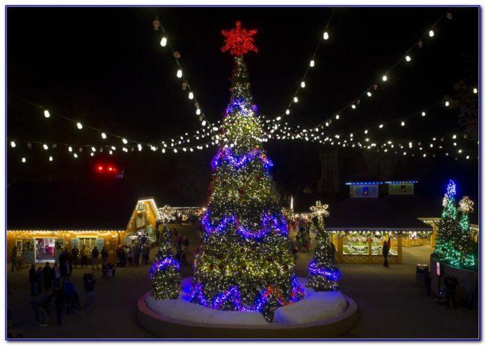 Christmas Town Busch Gardens Tampa Florida