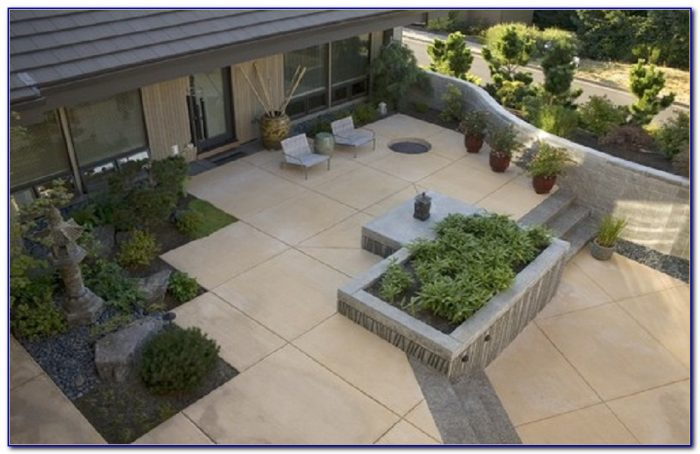 Concrete Patio Ideas And Placement Tips
