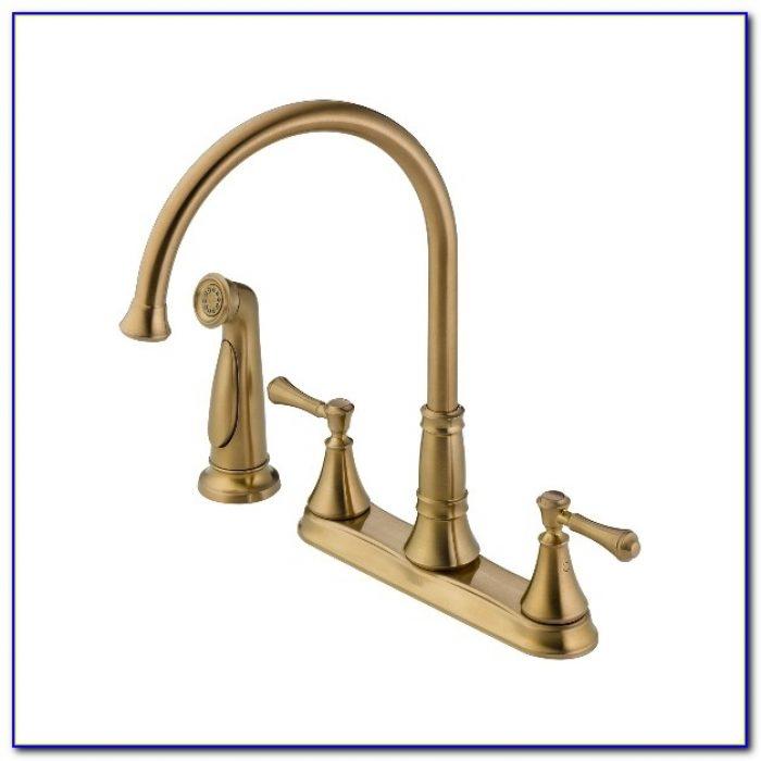 Delta Cassidy Kitchen Faucet Bronze