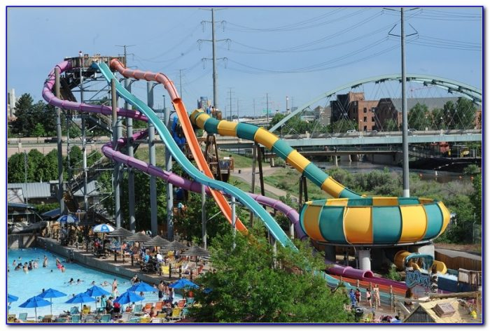 Elitch Gardens Theme Park In Denver Colorado