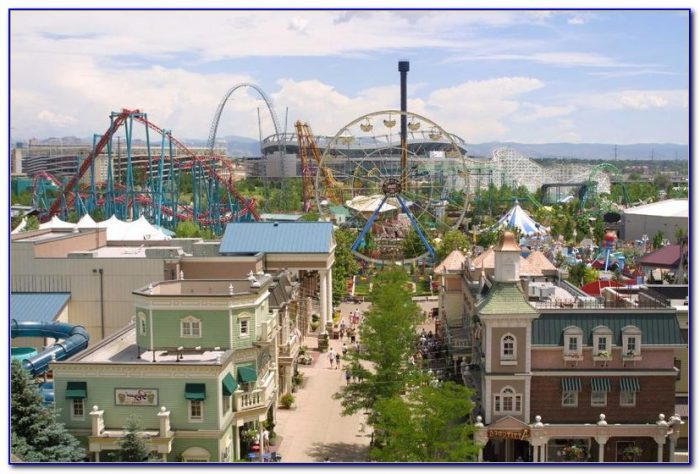 Elitch Gardens Theme Park Rides