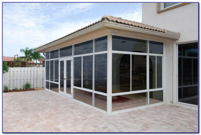 Enclosed Patio Kits