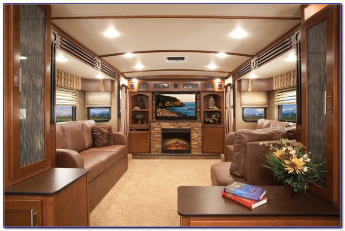 Front Living Room Fifth Wheel Rv
